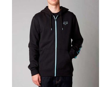 FOX TRACKER zip hoody black