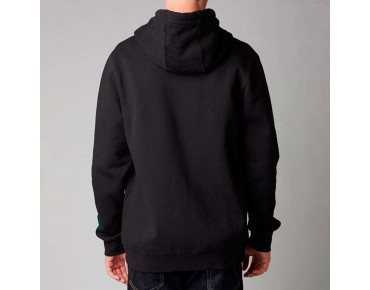 FOX TRACKER Zip Hoodie black