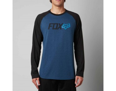 FOX WARM UP technical shirt with long sleeves heather electric blue
