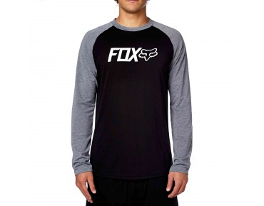 FOX WARM UP Funktions Langarmshirt black