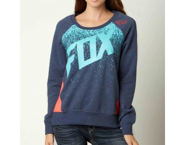 FOX AWAKE women's sweater heather navy