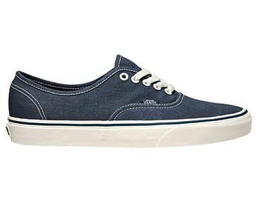 VANS U AUTHENTIC casual shoes (Washed) dark blue