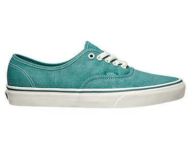 VANS U AUTHENTIC casual shoes (Washed) teal