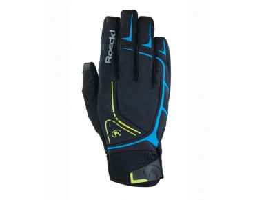 ROECKL RAVENSTEIN winter gloves black/blue
