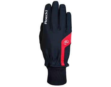 ROECKL PALMIRA Winterhandschuhe black/red