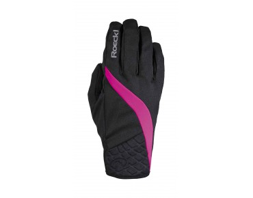 ROECKL WENGEN WINDSTOPPER women's gloves black/pink