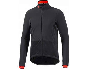 adidas supernova climaheat softshell jacket black/bold orange
