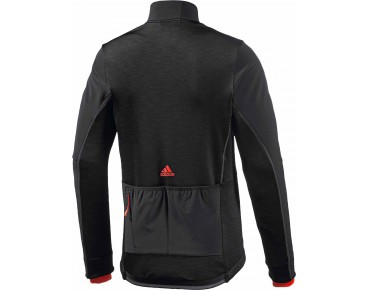 adidas supernova climaheat Softshell Jacke black/bold orange