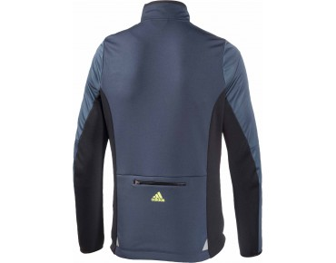 adidas response warmtefront Softshell Jacke midnight grey/black/frozen yellow