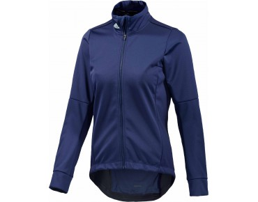 adidas response warmtefront women's softshell jacket midnight indigo/frozen green