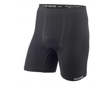 ROSE SEAMLESS II cycling underpants with seat pad black