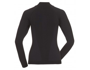 VAUDE SEAMLESS LS women's long-sleeved undershirt black