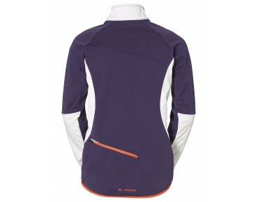 VAUDE RESCA women's soft shell jacket elderberry