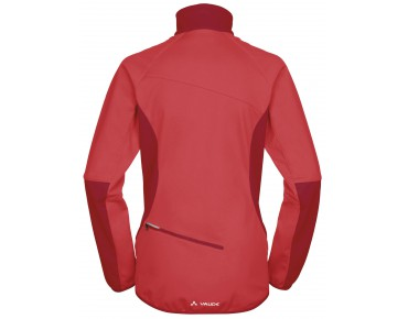 VAUDE RESCA women's soft shell jacket flame
