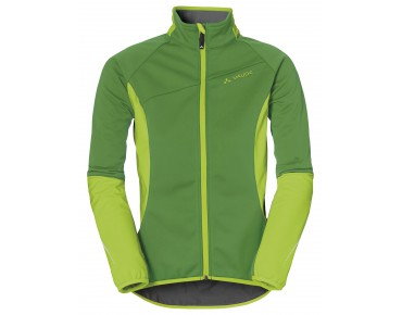 VAUDE RESCA women's soft shell jacket parrot green