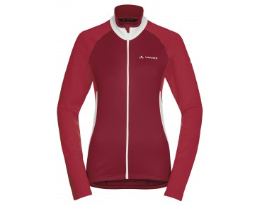 VAUDE MATERA II women's long-sleeved jersey indian red