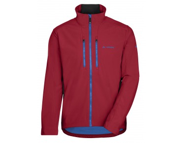 VAUDE VIRT soft shell jacket indian red