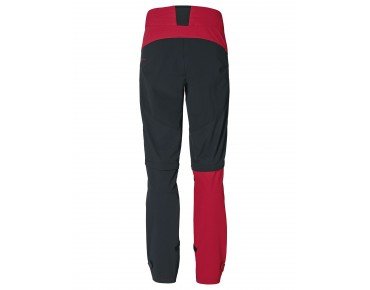 VAUDE MORZINE ZO soft shell trousers indian red