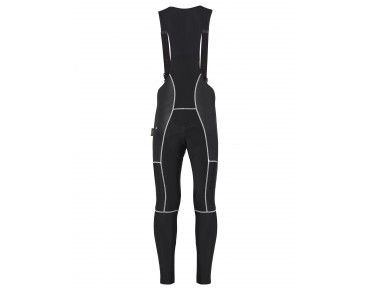 VAUDE ALPHAPRO BIB w/o SC Polartec bib tights without seat pad black