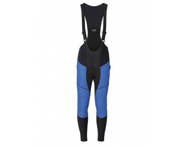 VAUDE ALPHAPRO BIB w/o SC Polartec bib tights without seat pad hydro blue