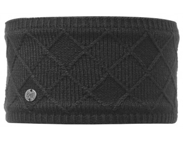 BUFF STELLA CHIC KNITTED & POLAR Stirnband black