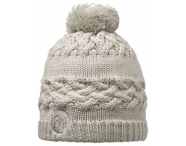 BUFF SAVVA KNITTED & POLAR hat cream