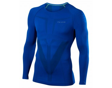 FALKE RUNNING ATHLETIC long-sleeved base layer cobalt