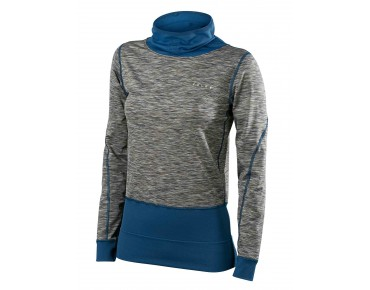 FALKE BRUSHED technical pullover for women venice night