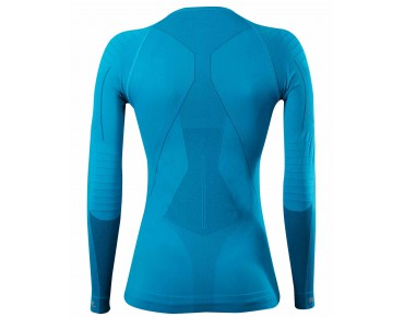 FALKE RUNNING ATHLETIC FIT Damen Langarmunterhemd mermaid