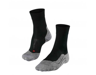 FALKE RU4 wool socks black