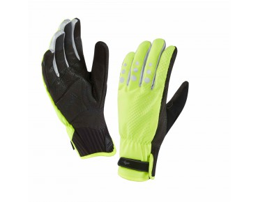 SealSkinz ALL WEATHER CYCLE XP gloves hi-viz yellow