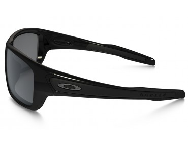 OAKLEY TURBINE sports glasses polished black w/ black iridium