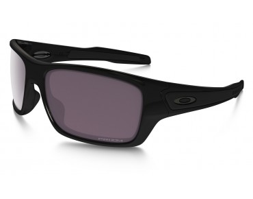 OAKLEY TURBINE sports glasses polished black w/PRIZM DAILY polarized