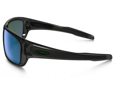 TURBINE sports glasses grey smoke w/ jade iridium polarized