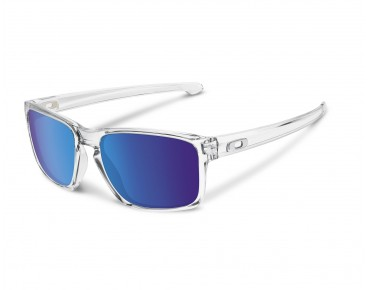 OAKLEY SLIVER sunglasses polished clear w/ sapphire iridium