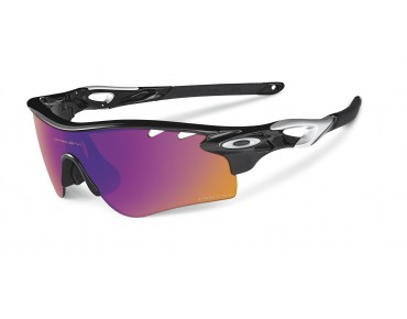 OAKLEY RADARLOCK PATH - occhiali polished black w/PRIZM TRAIL&clear Vdt