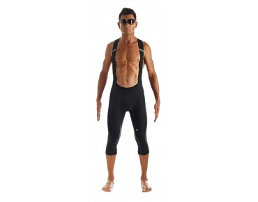 ASSOS TK.tiburu ¾-length bib tights black