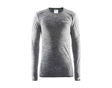 CRAFT ACTIVE COMFORT long-sleeved base layer black melange