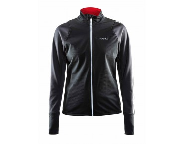 CRAFT BELLE women's windbreaker black