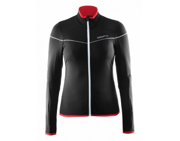 CRAFT MOVE women's long-sleeved jersey black/ruby