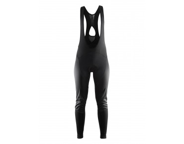 CRAFT BELLE WIND women's bib tights, long black