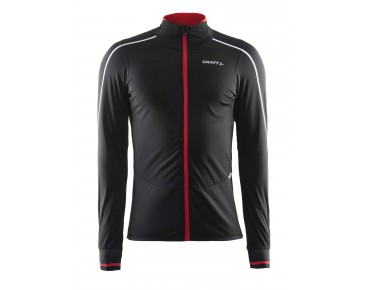 CRAFT STORM thermal windproof jersey with long sleeves black