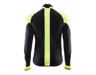 CRAFT STORM thermal windproof jersey with long sleeves black/flumino