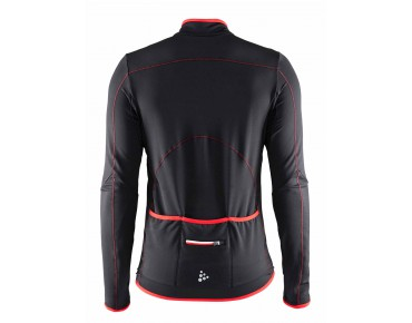 CRAFT MOVE Thermo Langarmtrikot black/bright red