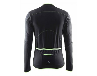 CRAFT MOVE Thermo Langarmtrikot black/gecko