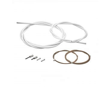 SHIMANO BC-R680 road bike brake cable set, polymer-coated weiß