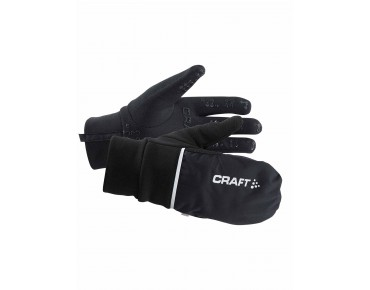 CRAFT HYBRID WEATHER gloves black