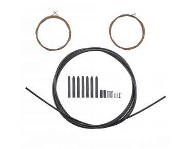 SHIMANO XTR polymer-coated shift cable set black