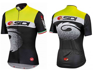 SIDI by Castelli PIPPO 2015 jersey black/yellow fluo
