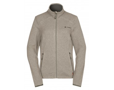 VAUDE RIENZA women's fleece jacket maple wood